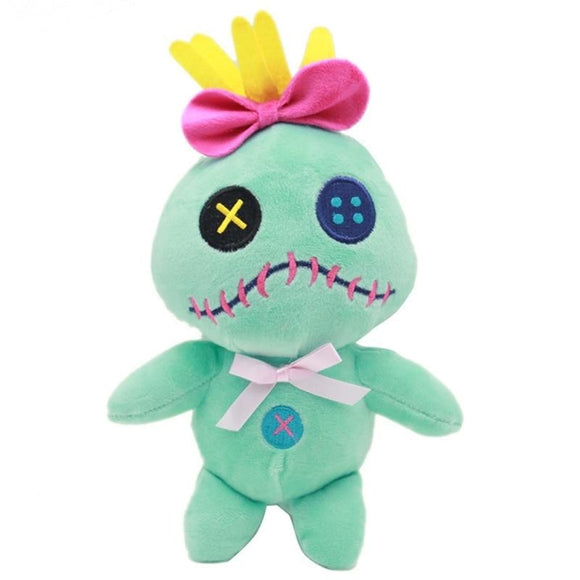Scrump Plush Lilo & Stitch Green Alien Monster Toy Stuffed Animal Cute