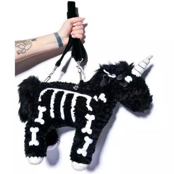 Skeleton Unicorn Bag - bags
