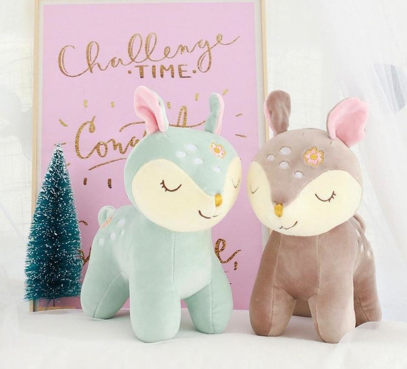 Sleepy Deer Plush - Home Decor
