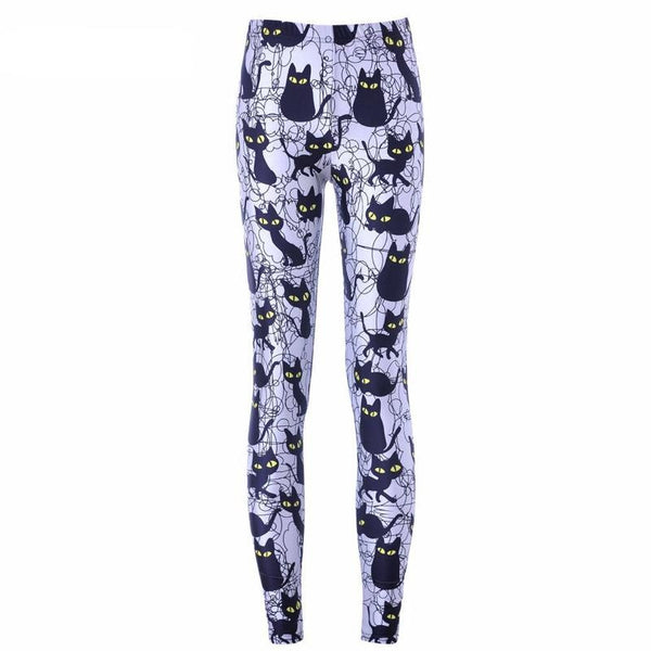 Spooky Cat Leggings - pants