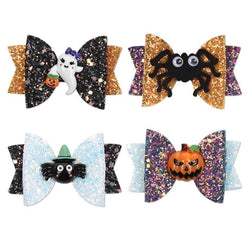 Spooky Hair Bows - hair accessory