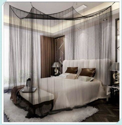 Square Bed Canopy - bedding