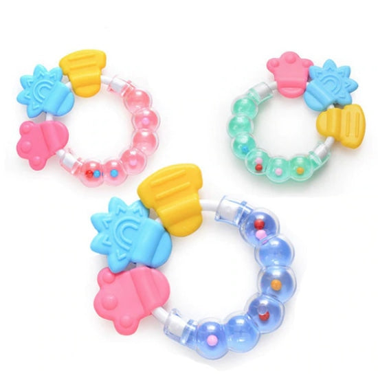 Squishy Rattle Teether - toys