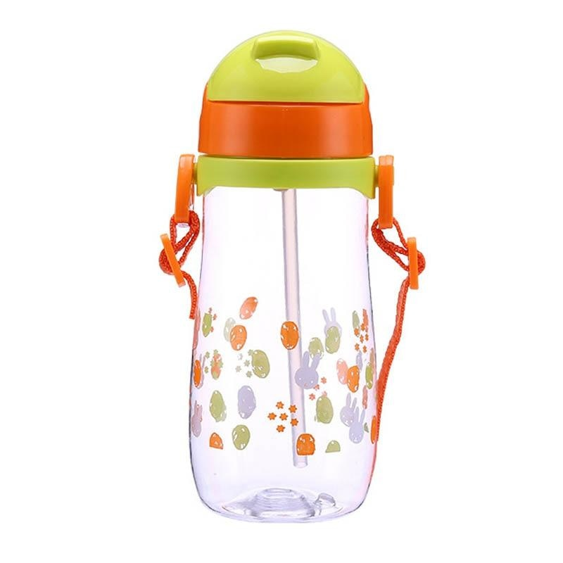 Starry Bunny Sippy - 300ml Orange handle - abdl, adult bottle, sized, baby bottles
