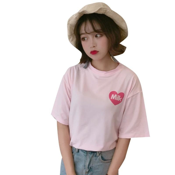 Strawberry Milk Tee - t-shirt