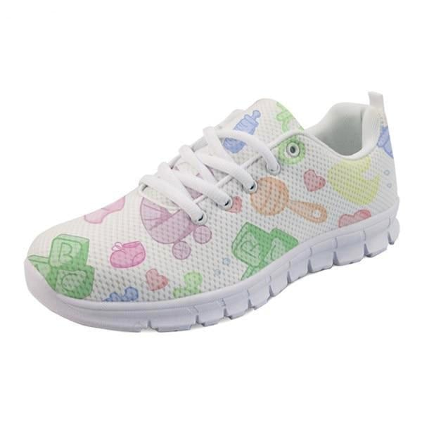 Sweet Baby Runners - White Nursery / 5 - shoes