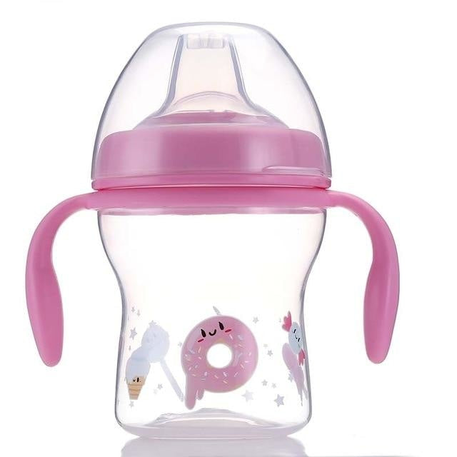 Sweet Baby Sippy - Pink Donut - sippy cup