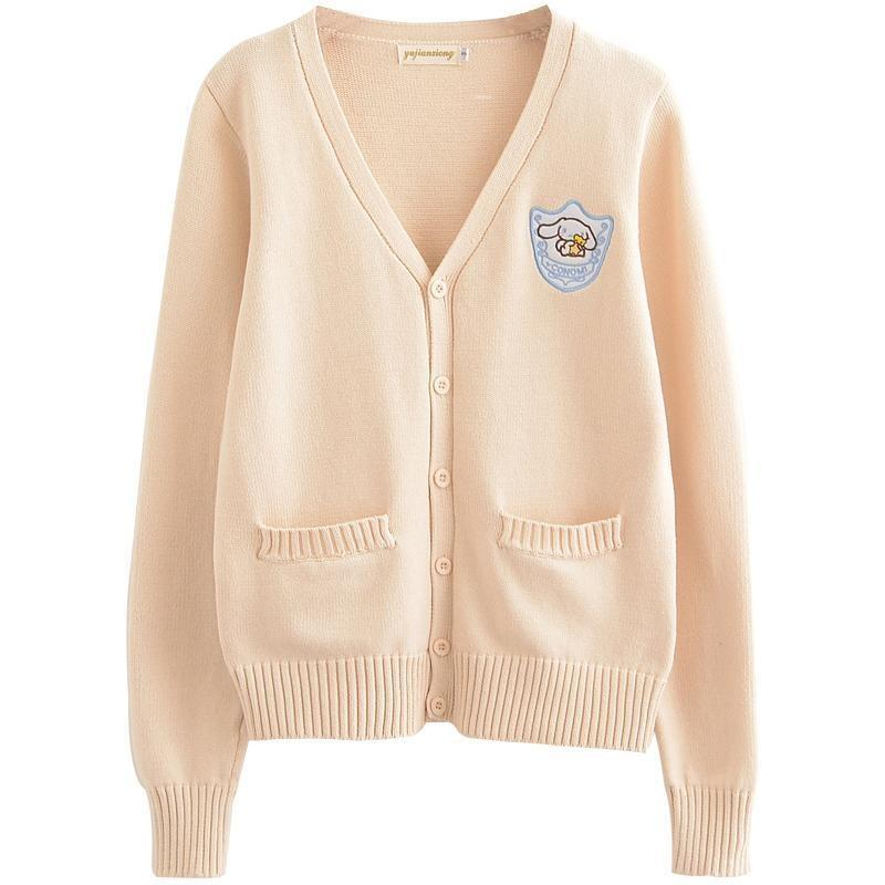 Melody Cardigan - Peach Cinnamoroll / XS - sweater