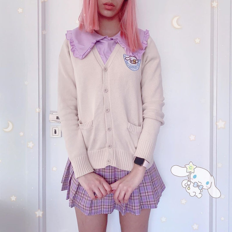Sweet Little Cardigan - cardigan sweater, cinnamoroll, fairy kei, kawaii, kawaii fashion