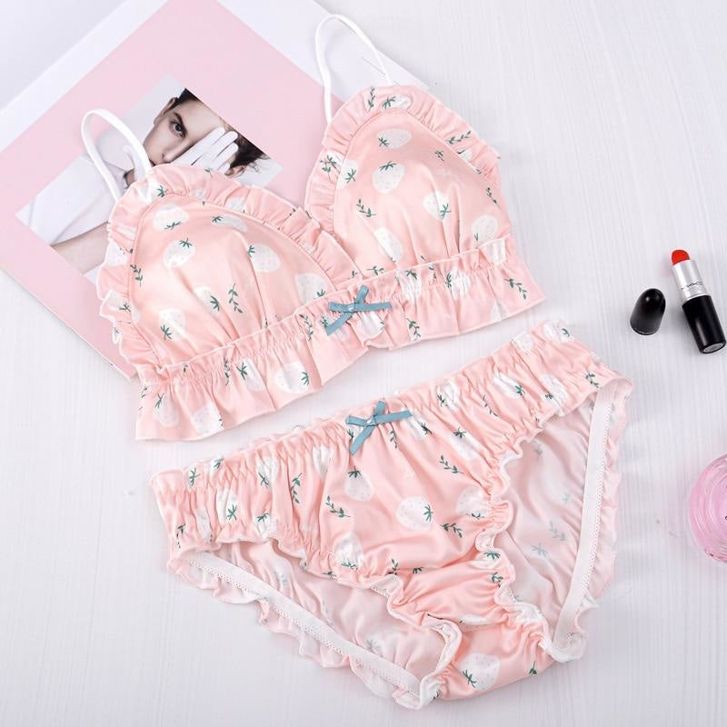 Sweet Peach Lingerie Set - lingerie