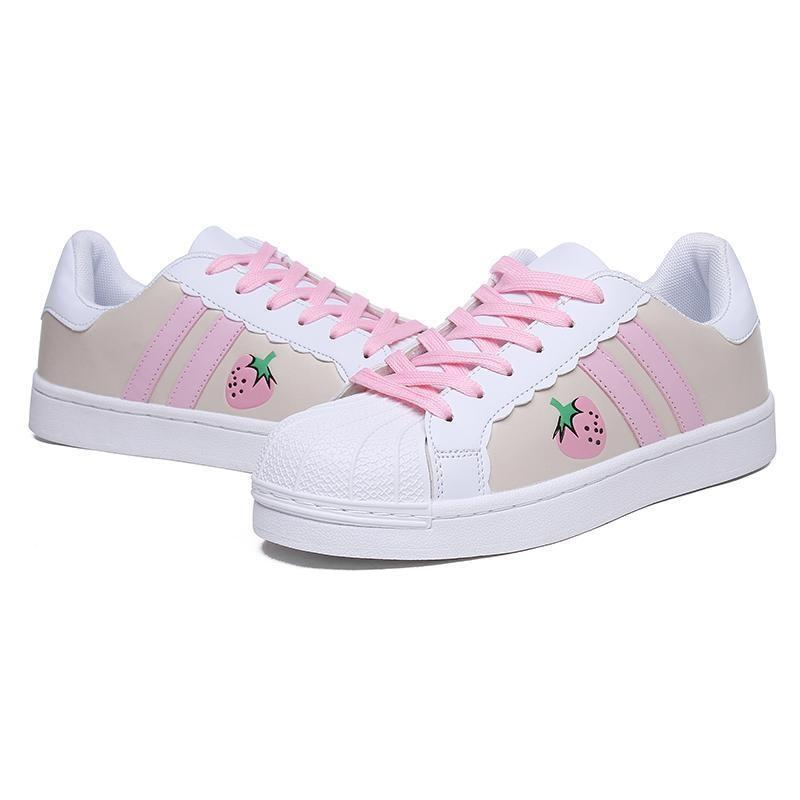 Sweet Strawberry Runners - shoes