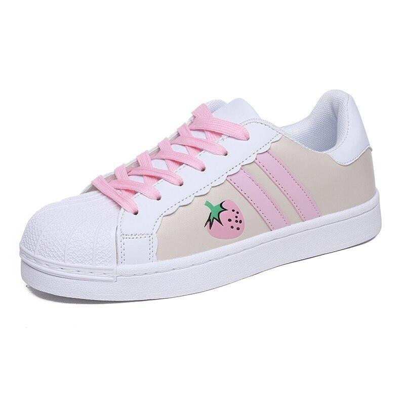Sweet Strawberry Runners - Pink / 5 - shoes