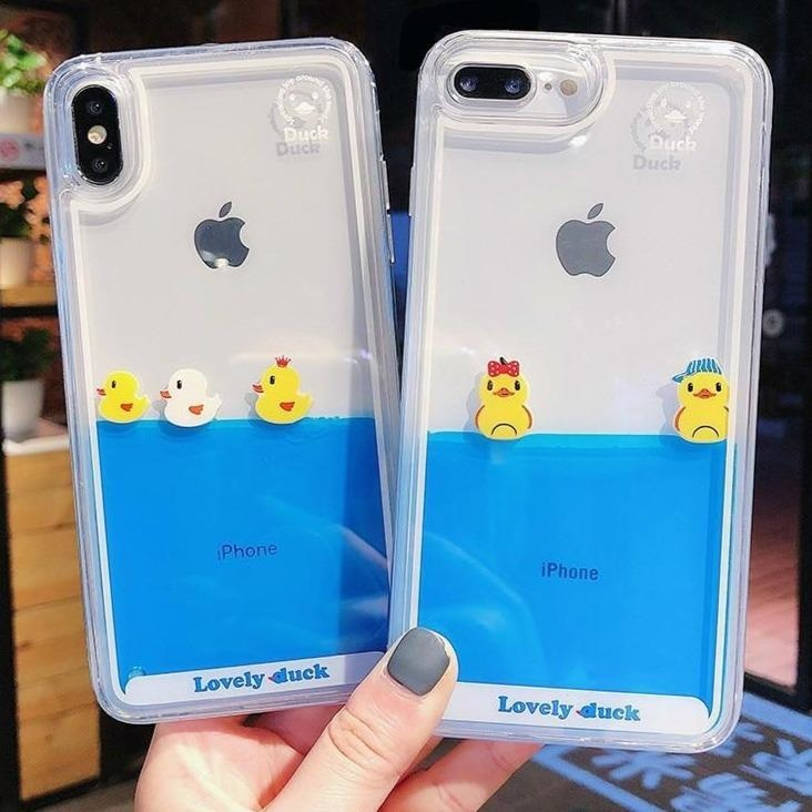 Swimming Duck iPhone Case - Phone Case