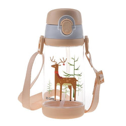 Tiny Fawn Sippy Cup - Brown - babas, baby bottle, bottles, dinosaurs, drinking