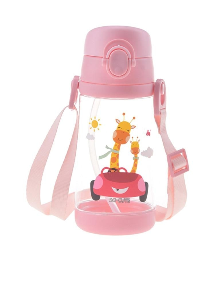 Tiny Fawn Sippy Cup - Pink Car - babas, baby bottle, bottles, dinosaurs, drinking