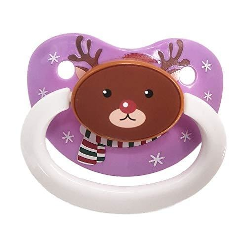 Tiny Reindeer Adult Pacifier - binkie