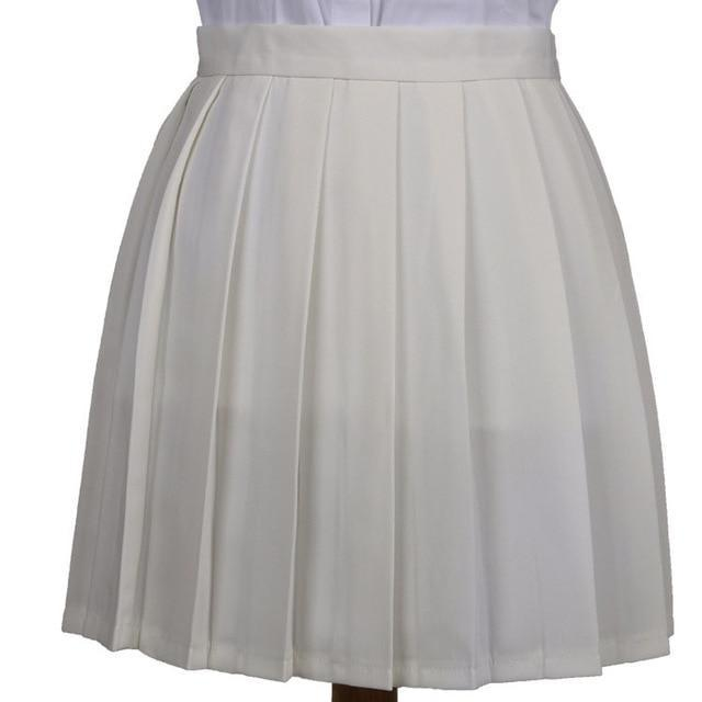 Traditional Pleated Skirt (up to 3XL) - Beige / XXXL - skirt