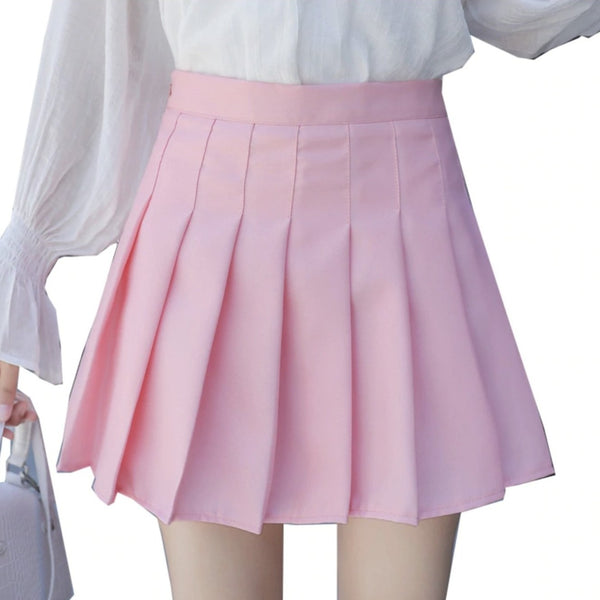Traditional Pleated Skirt (up to 3XL) - skirt
