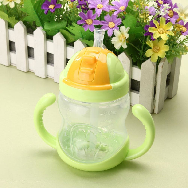 Traditional Green Sippy Cup Toddler Drinking Plastic Bottle With Straw Age Play ABDL Adult Baby Fetish by DDLG Playground