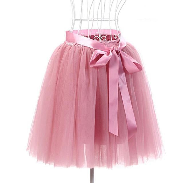 Tulle Princess Tutus - Rubber red - skirt