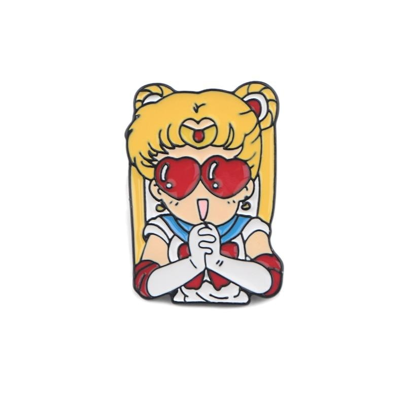 Usagi Enamel Pins - brooch