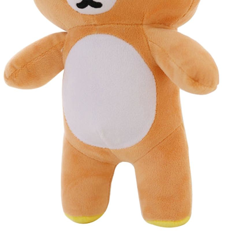 Brown Rilakkuma Bear Plush Toy Stuffed Animal Plushies CGL ABDL by DDLG Playground