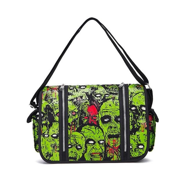 Zombie Parade Handbag - Green - bag