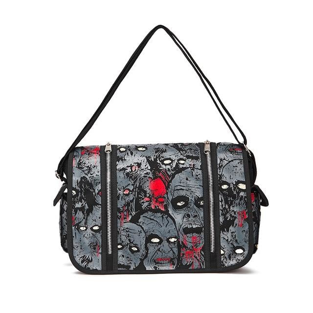 Zombie Parade Handbag - Grey - bag