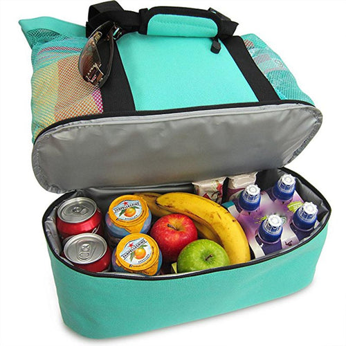 Portable Insulated Cooler/Food Bag