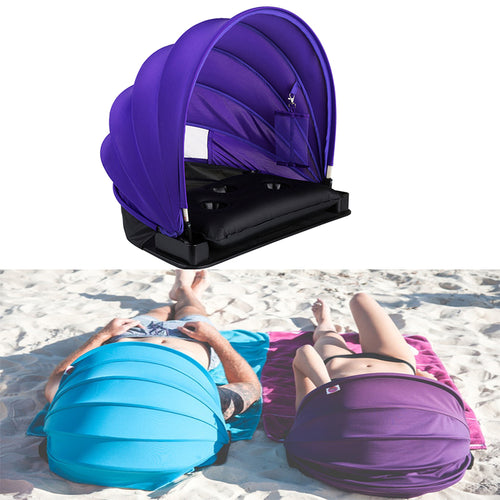 Portable Face Shader w/ Inflatable Pillow