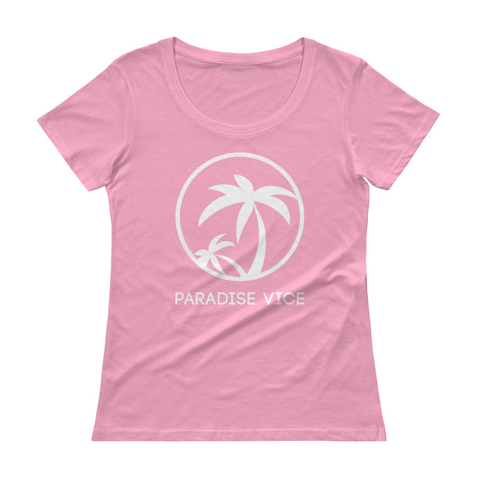 Ladies' Scoopneck Paradise Vice T-Shirt