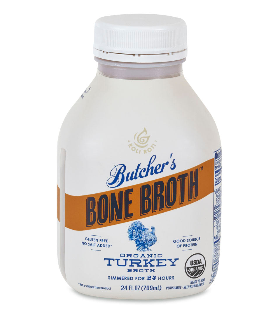 ORGANIC TURKEY BROTH (Seasonal) - 8 Pack