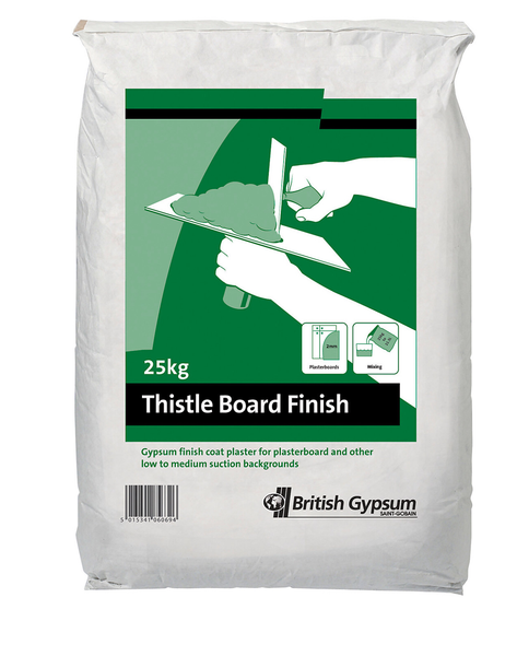 Thistle Board Finish Plaster