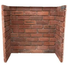 Reclaimed Brick Fireplace Chamber