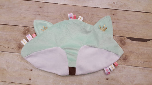 Mint Fox Lovely Blanket
