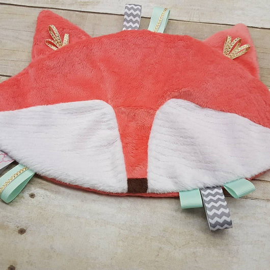 Coral Fox Lovely Blanket