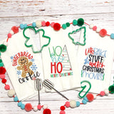 Gingerbread Cookie - Kitchen Towels- Christmas
