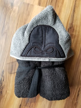 Evil Father Hooded Towel