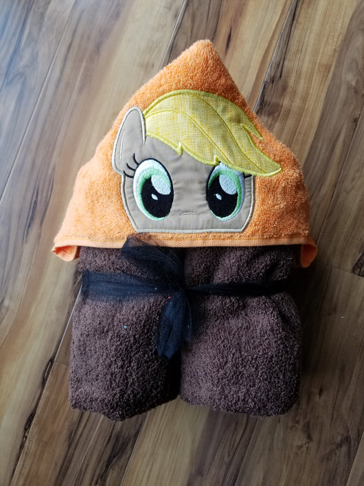 Pony Friends - Apple Pony Hooded Towel