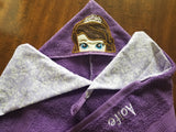 Princess Dog Hooded Towel