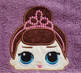Baby Doll - Fancy Doll Hooded Towel