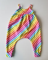 Rainbow Stripe Romper