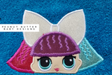 Baby Doll - Pranksta Doll Hooded Towel
