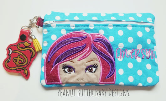 Princess Friends - Audrey Zipper Pouch