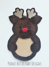 Sparkle Reindeer Treat Holder