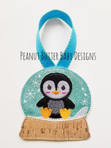 Penguin Globe Ornament