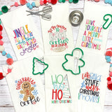 Have yourself a Merry little Christmas - Kitchen Towels- Christmas