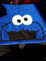 Dessert Monster Hooded Towel