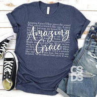 Amazing Grace - Screen Print