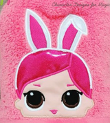 Baby Doll - Bunny Doll Hooded Towel